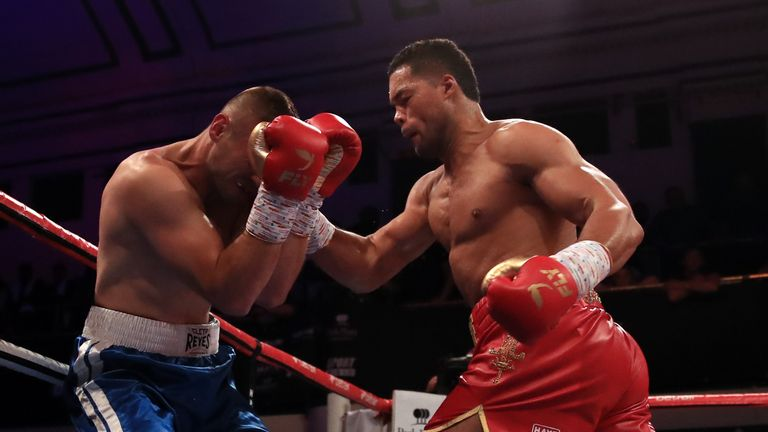 Joyce floored Bacurin in round one to defend his Commonwealth heavyweight title