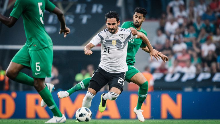 lkay Guendogan endured boos from Germany fans when he came for the last half an hour against Saudi Arabia