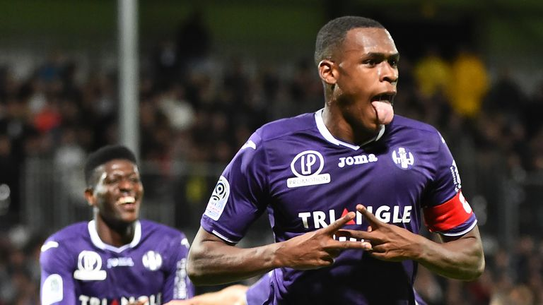 Issa Diop from Toulouse