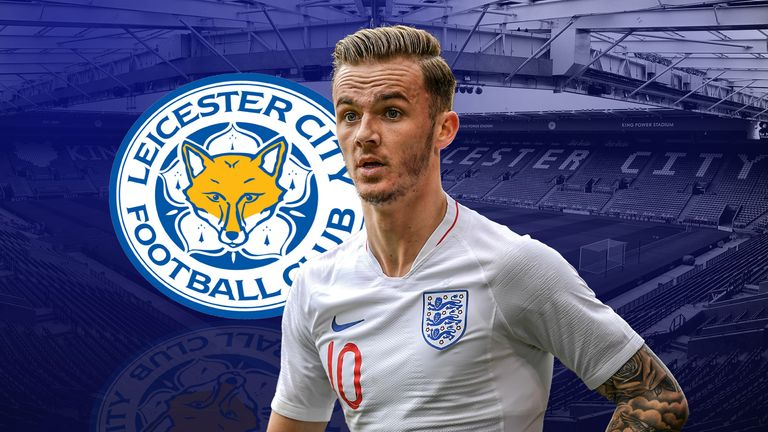 James Maddison is now a Premier League player with Leicester City