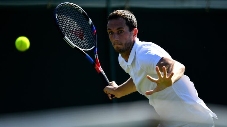 James Ward reached the Wimbledon third round in 2015