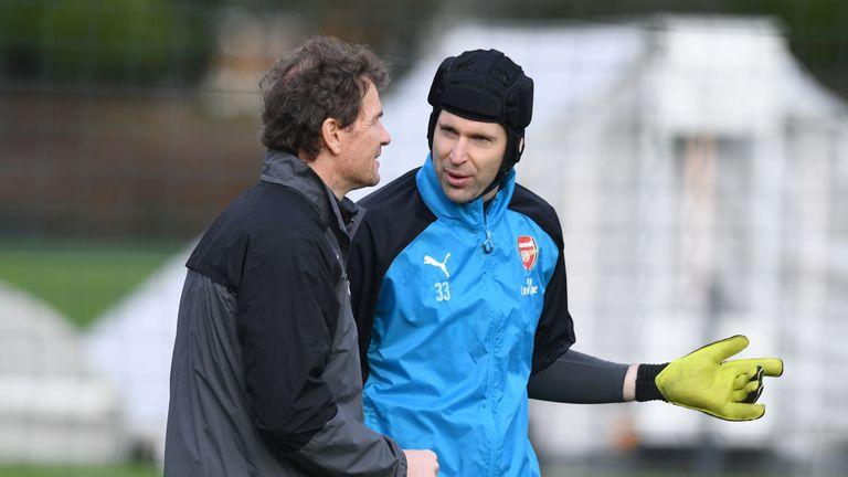 First-team coach Jens Lehmann has left Arsenal
