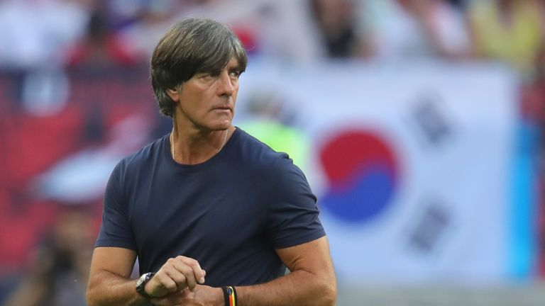 Joachim Low will see out his contract until 2022 despite Germany's early World Cup exit