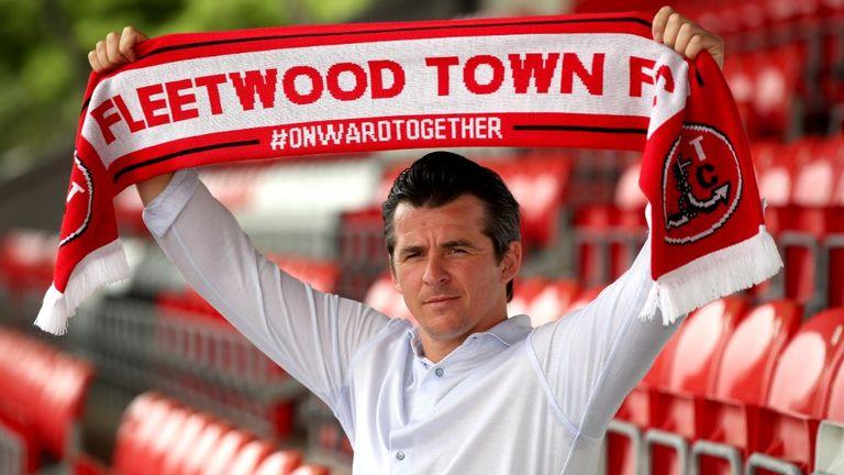 Joey Barton has taken charge at Highbury Stadium