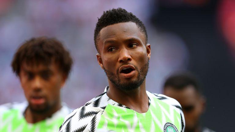 Nigeria captain John Obi Mikel