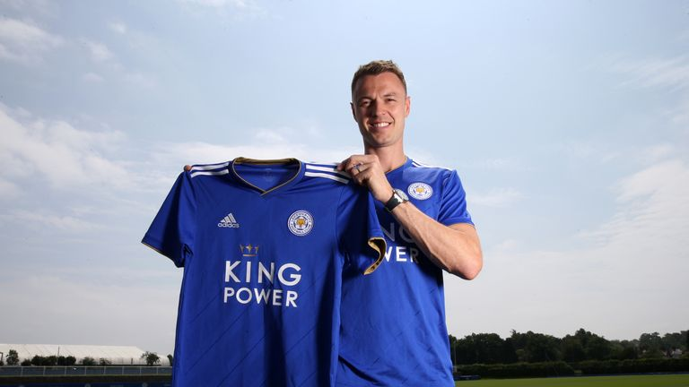Evans completed a £3.5m move to Leicester City in June