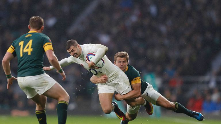 May says England have been working to improve their discipline since the defeat at Ellis Park