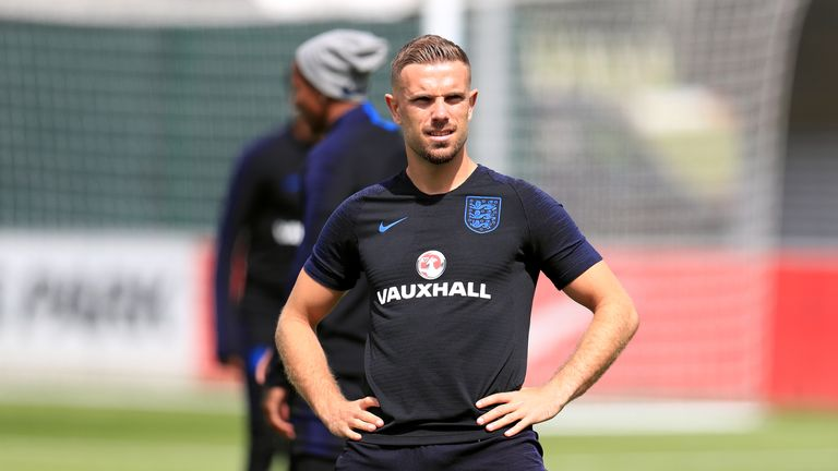 Jordan Henderson is happy to play an attacking role for England