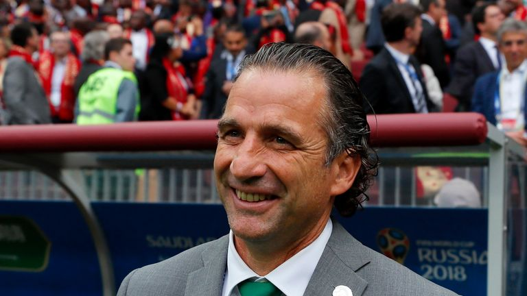 "Juan Antonio Pizzi talks of his ""feeling of shame"""