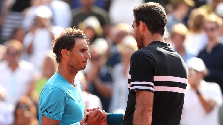 Juan Martin del Potro believes Rafael Nadal is impregnable on the red dirt of Paris