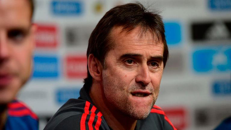 Real Madrid-bound Julen Lopetegui was sacked as Spain coach on Wednesday - two days before their World Cup opener against Portugal