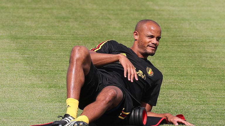 Vincent Kompany could still be involved in Belgium's group fixtures, says Roberto Martinez