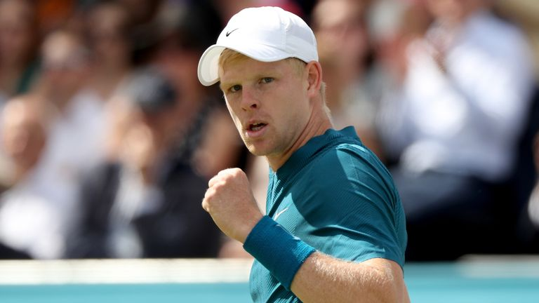 Kyle Edmund will be seeking to better his best performance at Queen's