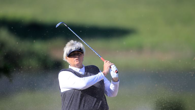 Dame Laura Davies finished in a tie for 44th place