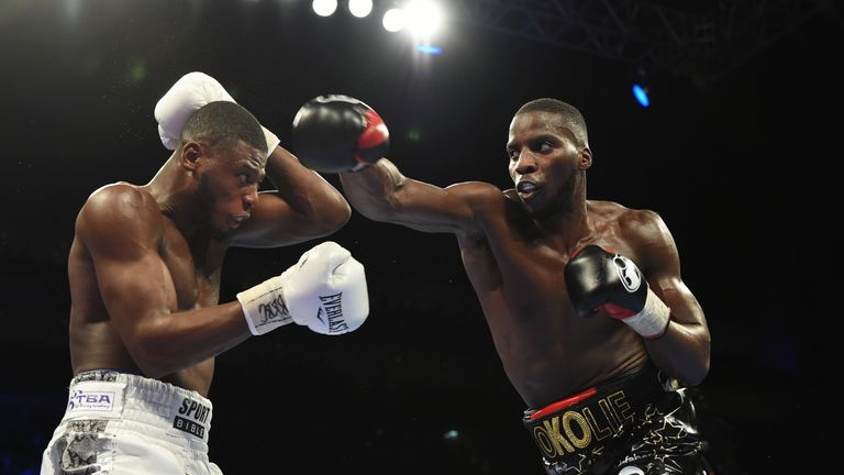 Isaac Chamberlain returns after a loss to Lawrence Okolie