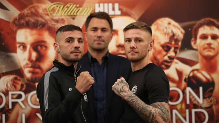 Lewis Ritson makes third British title defence against Paul Hyland Jnr