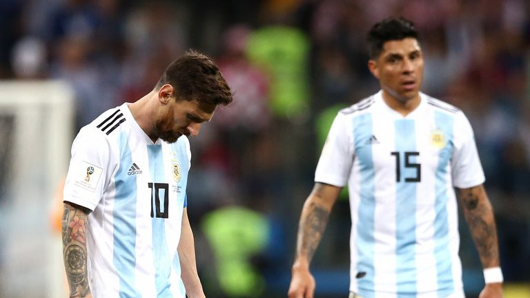 Argentina have just one point from their opening two games
