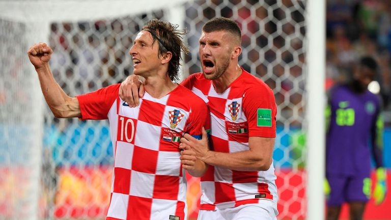 Modric was Croatia's key man at the World Cup