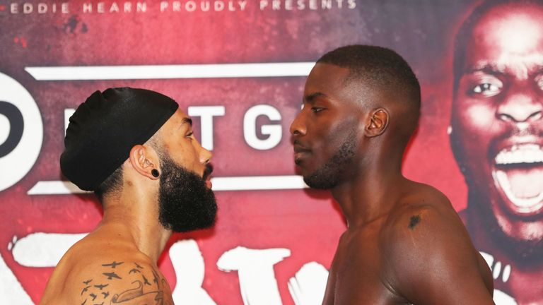 Luke Watkins and Lawrence Okolie will collide on Wednesday's JD NXTGEN bill
