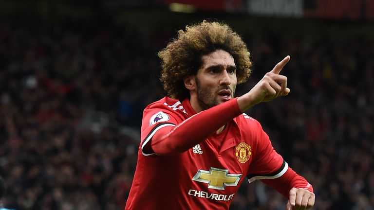 Marouane Fellaini joined Manchester United in 2013 from Everton