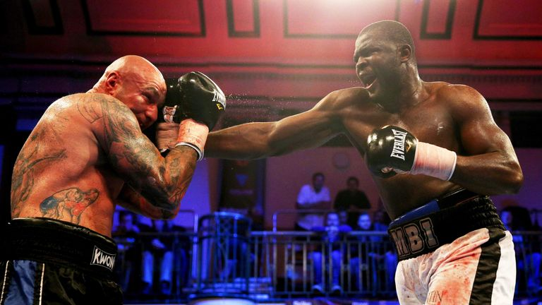 Martin Bakole has won 15 out of 16 fights