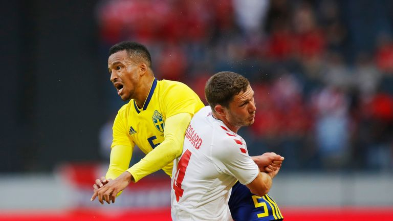 Sweden and Denmark played out a goalless draw in their meeting