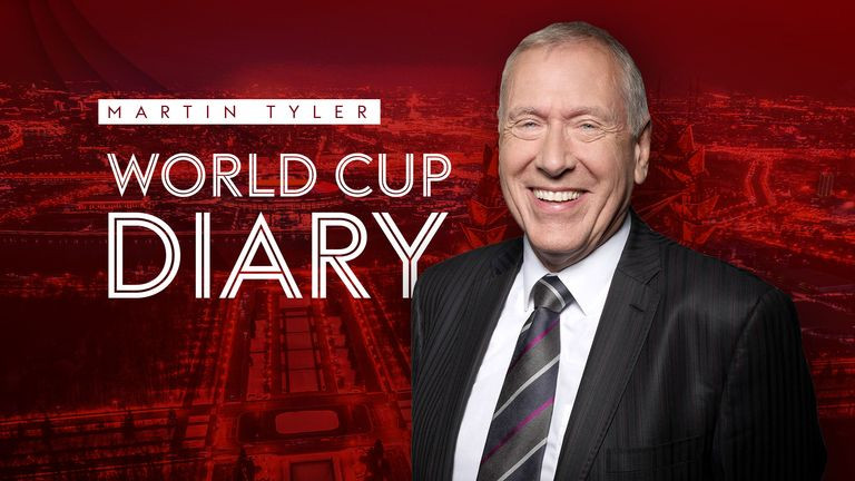 Martin Tyler brings you the latest extract from his World Cup diary
