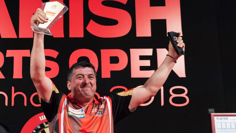 Mensur Suljovic claimed his first title of the year in Brondby