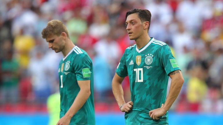 Germany have been knocked out of the World Cup