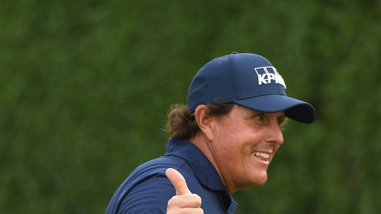 Phil Mickelson was in good form in the spring
