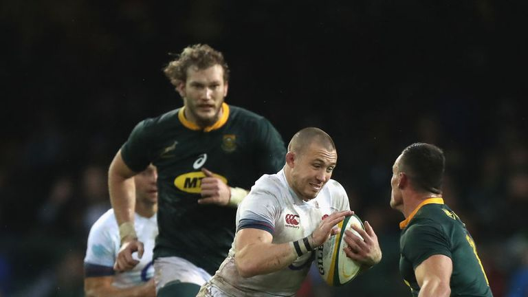 Mike Brown scored two tries and featured in all three of England's summer Tests against South Africa
