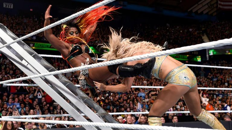 Moon has put her body on the line in several eye-catching matches already