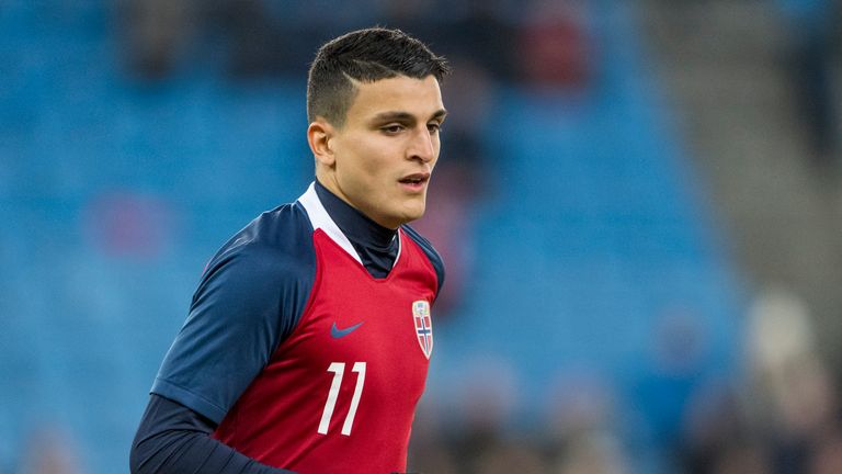 Mohamed Elyounoussi has scored four times in 16 appearances for Norway