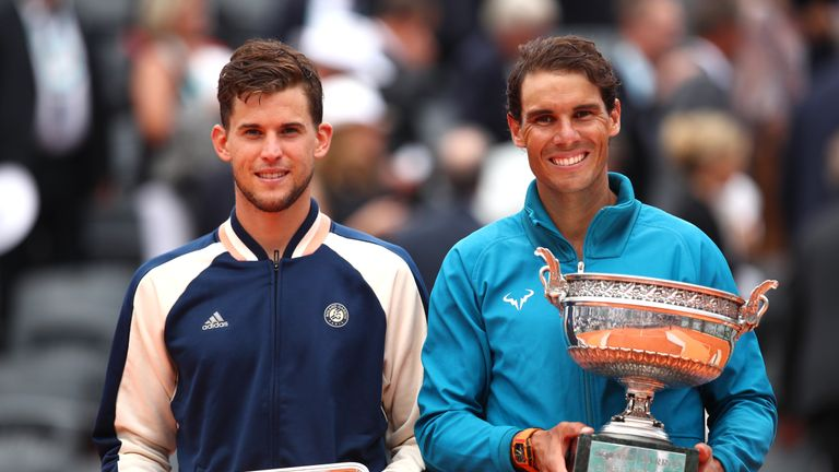 Dominic Thiem lost to Rafael Nadal in his first Grand Slam final at Roland Garros