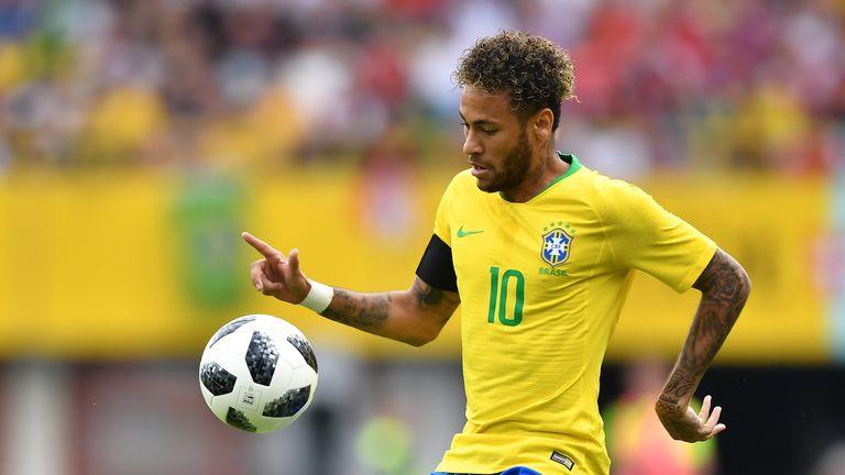 Neymar Brazil Austria