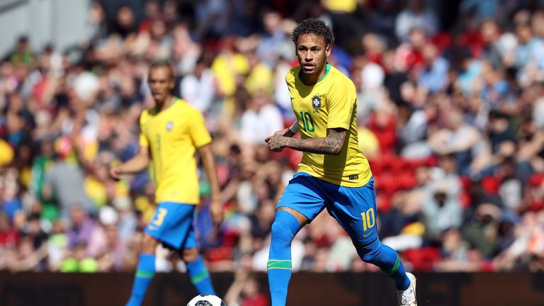 Neymar's Brazil are among the favourites to win the World Cup