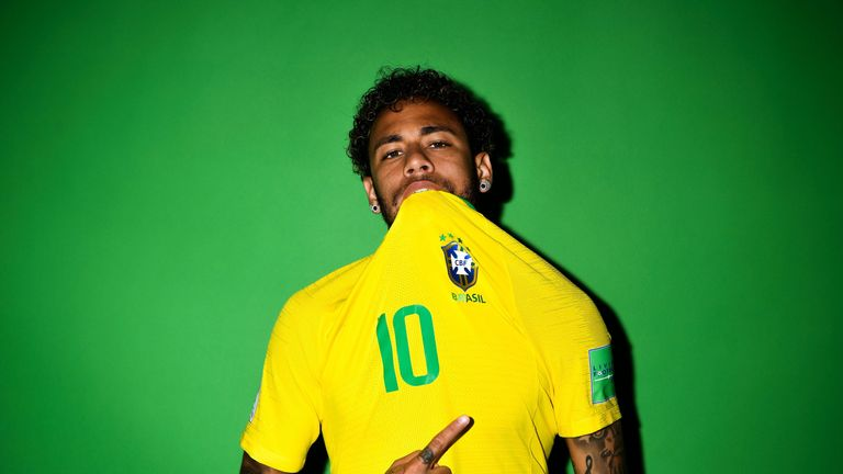 Brazil's poster boy Neymar will be desperate to lead his side to glory in Russia