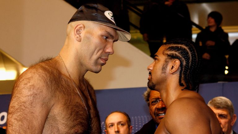 Nikolai Valuev was 7ft tall and weighed over 22st for world title fight