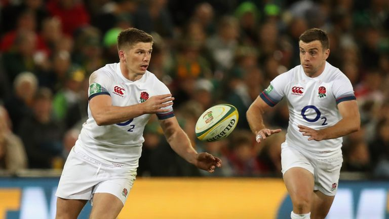 Owen Farrell will be England co-captain against South Africa at Twickenham on Saturday