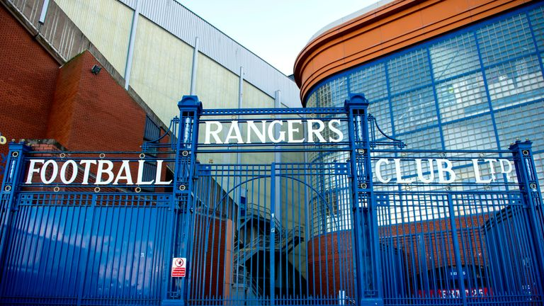 Rangers have run up legal costs of £185,000