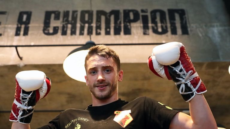 Reece Bellotti is a former Commonwealth champion