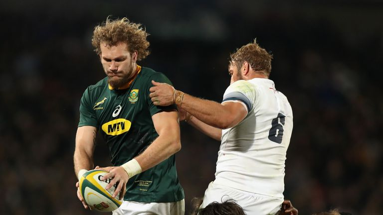 RG Snyman impressed in his first test for South Africa