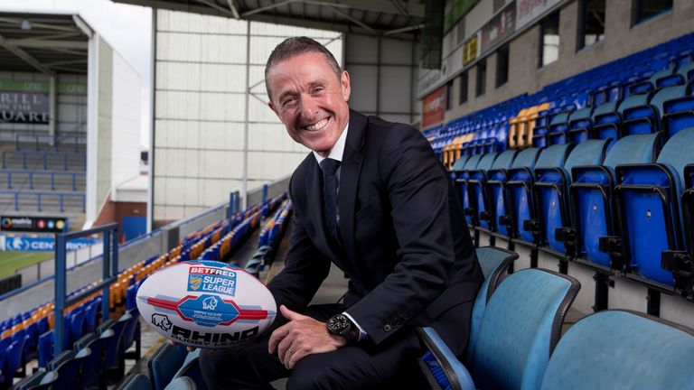 New Super League boss Robert Elstone was previously chief executive of Premier League side Everton