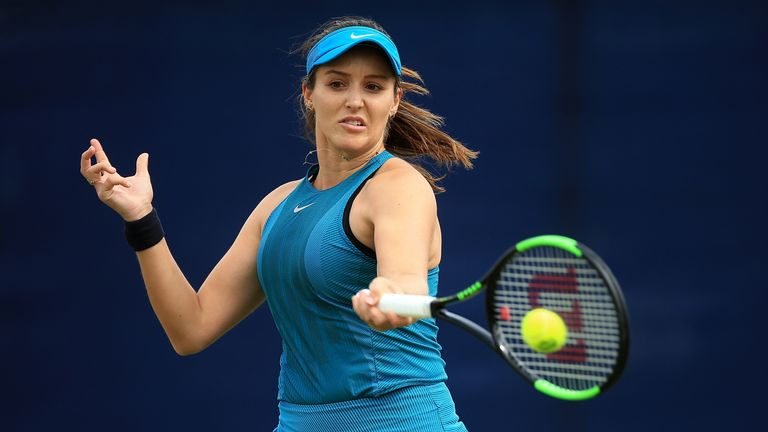 Laura Robson has not played a match since April 2019