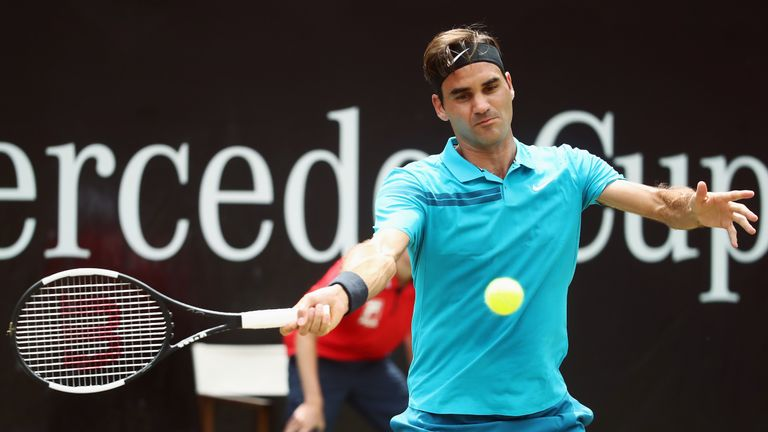 Federer opted to sit out the entirety of the clay-court season
