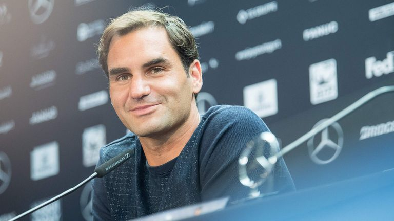 Roger Federer returns to action in Stuttgart on Wednesday