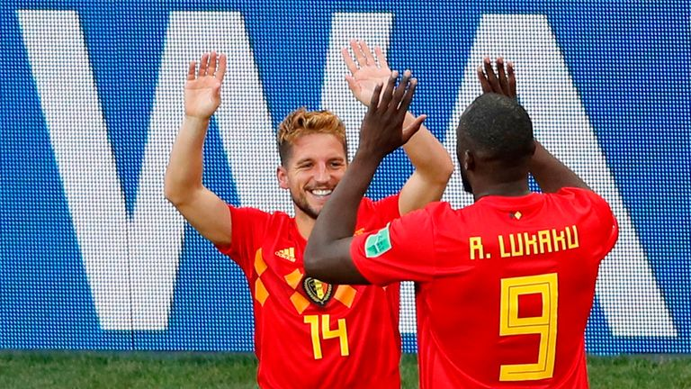 Belgium were winners against Panama earlier in the day