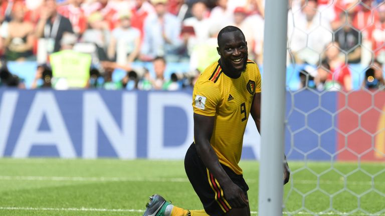 Romelu Lukaku has scored four goals for Belgium at the 2018 World Cup
