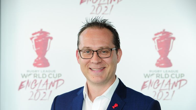 2021 Rugby League World Cup chief executive Jon Dutton revealed the tournament will be hosted exclusively in England