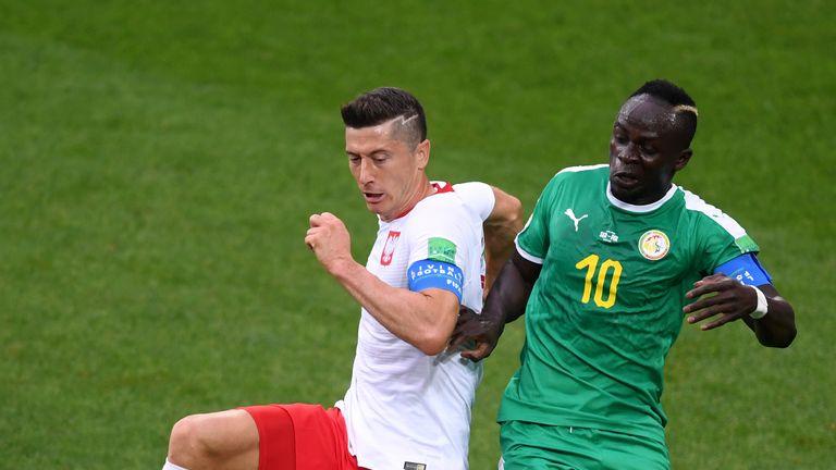 Mane is on international duty with Senegal